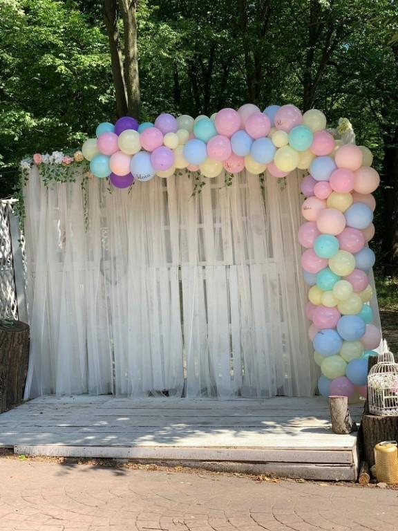 panouri foto de inchiriat decoratiuni baloane panou flori nunta botez cumatrie aniversare majorat iasi panou tematic panou personalizat perete poze fotografii eveniemente iasi pret panou decorativ arcada baloane aracada intrare magazin local restaurant arcade colorate